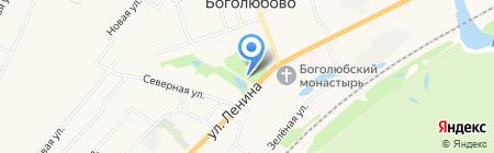 Обелиск33 на карте Боголюбово
