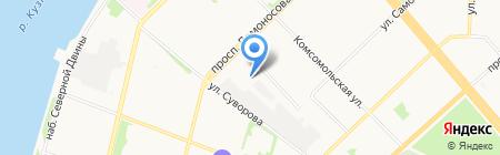 Норд Мастер на карте Архангельска