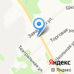 МультиДОМ на карте Архангельска