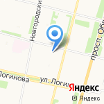 АМБАР на карте Архангельска