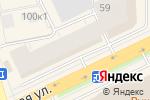 Схема проезда до компании Ермак в Архангельске