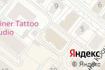 Схема проезда до компании Мир штор в Архангельске