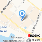 Pompa на карте Архангельска