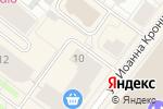 Схема проезда до компании Галерея света в Архангельске