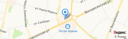 Империал на карте Архангельска