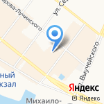 Мир штор на карте Архангельска