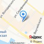 Рубикон Архангельск на карте Архангельска