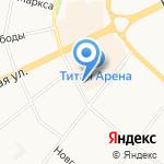 АрхОблЭкспертиза на карте Архангельска
