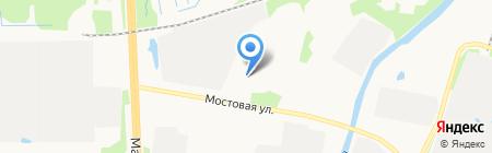Стройнорд на карте Архангельска