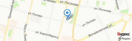 Elena на карте Архангельска