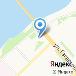 Магазин чая и кофе на карте Архангельска