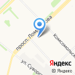 Билд Групп на карте Архангельска