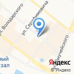 Городской стиль на карте Архангельска