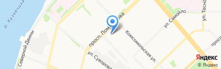 BEER & HONEY на карте Архангельска