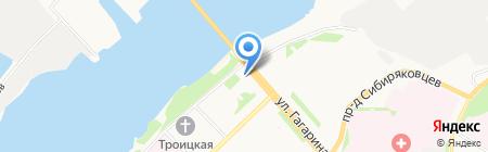 Фотоконтора на карте Архангельска