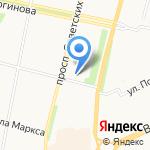 КанцСити на карте Архангельска