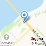 Деньги в руки на карте Архангельска