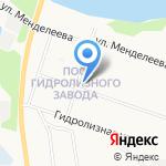 Почтовое отделение связи №22 на карте Архангельска