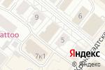 Схема проезда до компании Чубчик Кучерявый в Архангельске