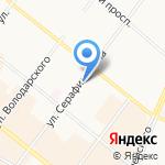 Северо-Западная компания на карте Архангельска