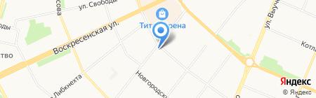 Торгово-производственная компания на карте Архангельска
