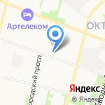 Поешь-ка на карте Архангельска