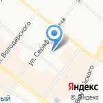 РН-Бункер на карте Архангельска