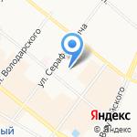 Норд-Вест на карте Архангельска