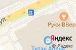 Схема проезда до компании Магазин головных уборов в Архангельске