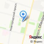 ДЮСШ им. Л.К. Соколова на карте Архангельска
