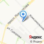 АКБ Проект на карте Архангельска