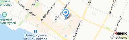 Первая банкетная служба на карте Архангельска