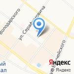 Трескоед на карте Архангельска