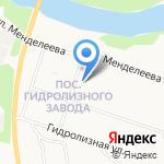 Швейное ателье на карте Архангельска