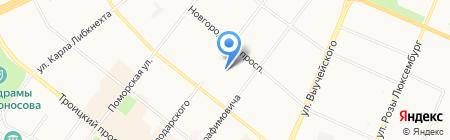 Я мама на карте Архангельска