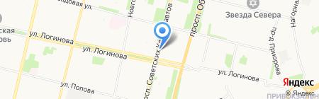 ИФНС на карте Архангельска