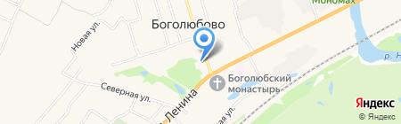 Волго-Вятский банк Сбербанка России на карте Боголюбово