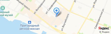 Магия цветов на карте Архангельска