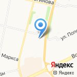 Фитнес-студия Надежды Захаровой на карте Архангельска