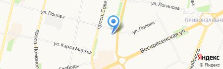 Росгосстрах Банк на карте Архангельска