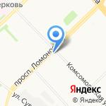 Фруктовый сад на карте Архангельска