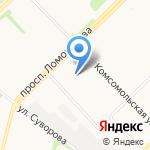 Академия на карте Архангельска