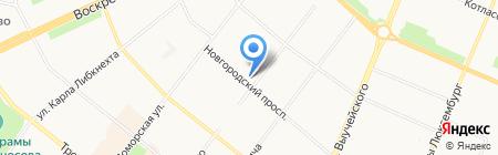Проектный институт транспортной инфраструктуры ИНТИ на карте Архангельска