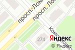 Схема проезда до компании Фруктовый сад в Архангельске