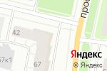 Схема проезда до компании Банкомат, Банк Русский стандарт в Архангельске
