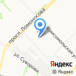 Весь Ритуальный Комплекс на карте Архангельска