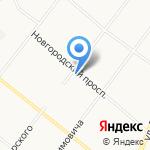 Здоровый малыш на карте Архангельска