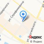 Сувениры Севера на карте Архангельска