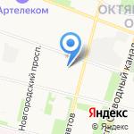 Лялечка на карте Архангельска