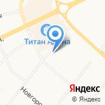 Двина-Стом Плюс на карте Архангельска